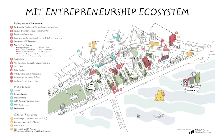 MIT Entrepreneurship Map small