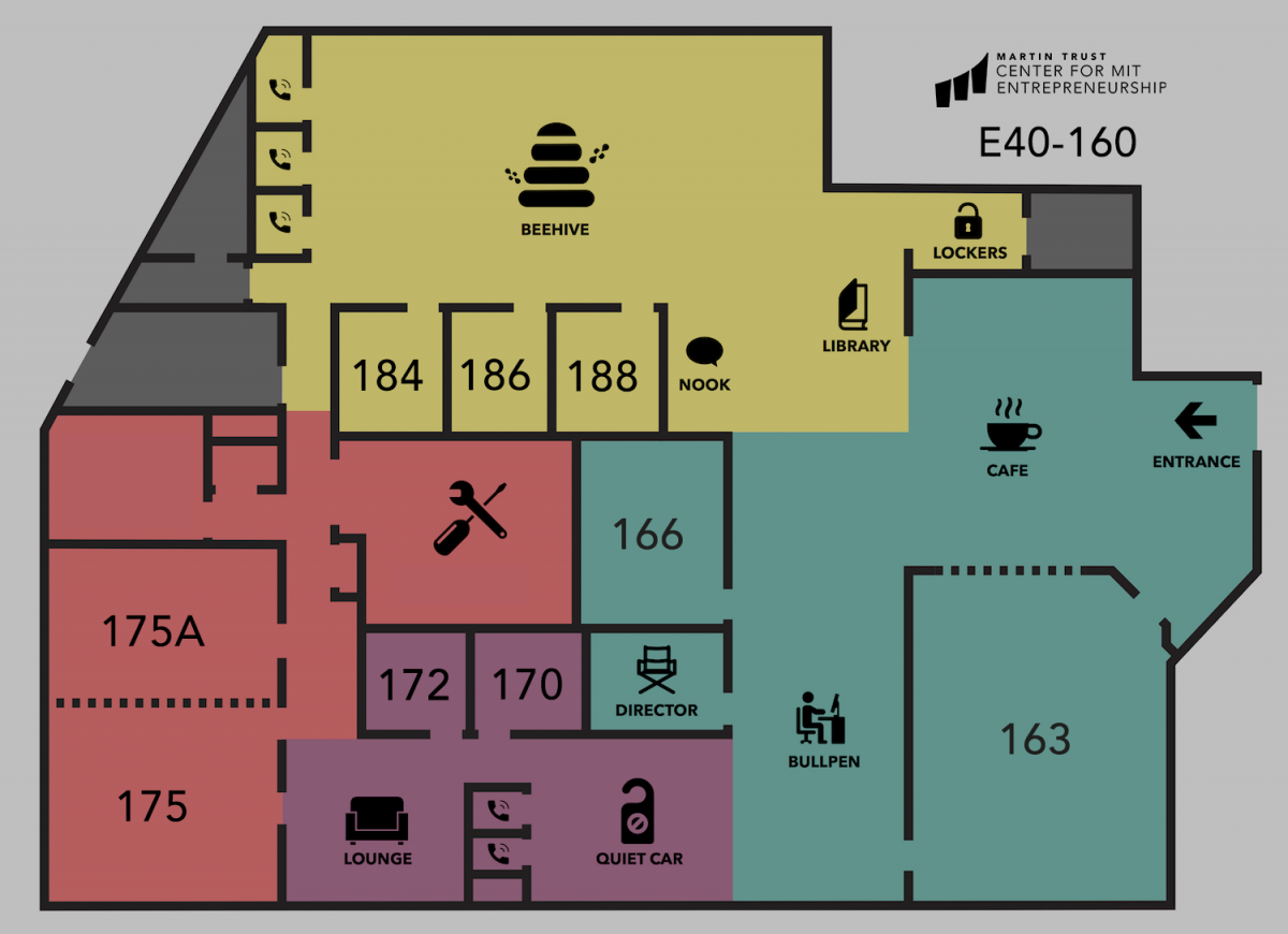 Trust Center map of space